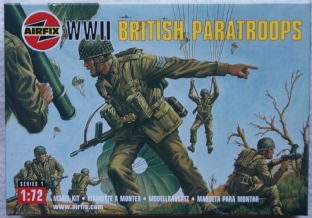 Airfix 1/72 AX01723 British Paratroopers (WW2)
